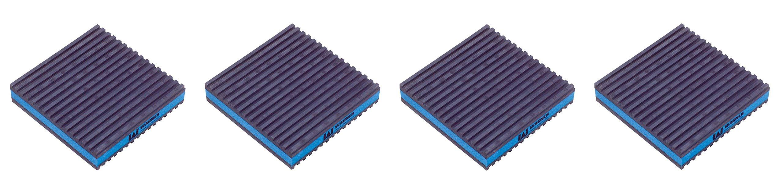Diversitech MP-4E Eva Anti Vibration Pad, 4 x 4 x 7/8 (Fоur Paсk)