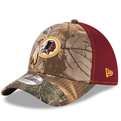 Washington Redskins Real Tree Neo 39THIRTY Flex Fit Hat   Cap Small Medium bb3a614ce