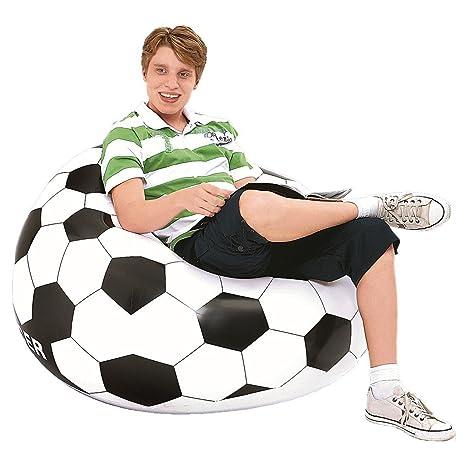JILONG jl030391 N - P115 Soccer Air sofá Hinchable Chair ...