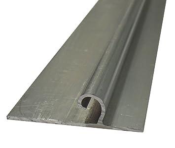 Andreas Ponto Perfil de varilla, spr16 W, aluminio, 300 x 6.6 x 1.8 cm, 425095580412: Amazon.es: Jardín