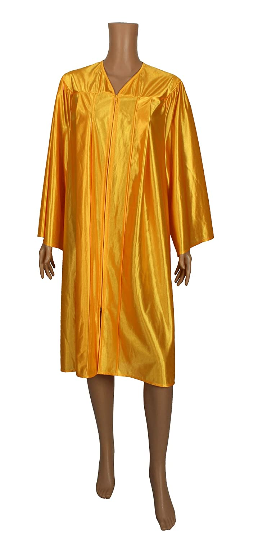 Happy Secret Unisex Choir Robe Shiny Finish with zipper