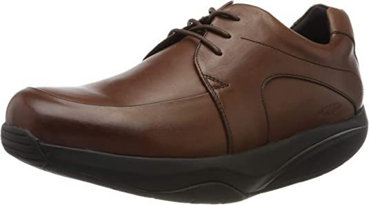 TALLA 39 EU. MBT Shuguli M, Zapatos de Cordones Oxford para Hombre