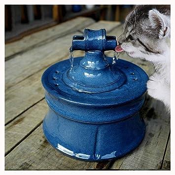 CATPETS Mascota Dispensador de Agua automático Fuente Gato y ...