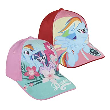 Pack 2 gorras de tela adaptables 2 diseños diferentes MY LITTLE ...