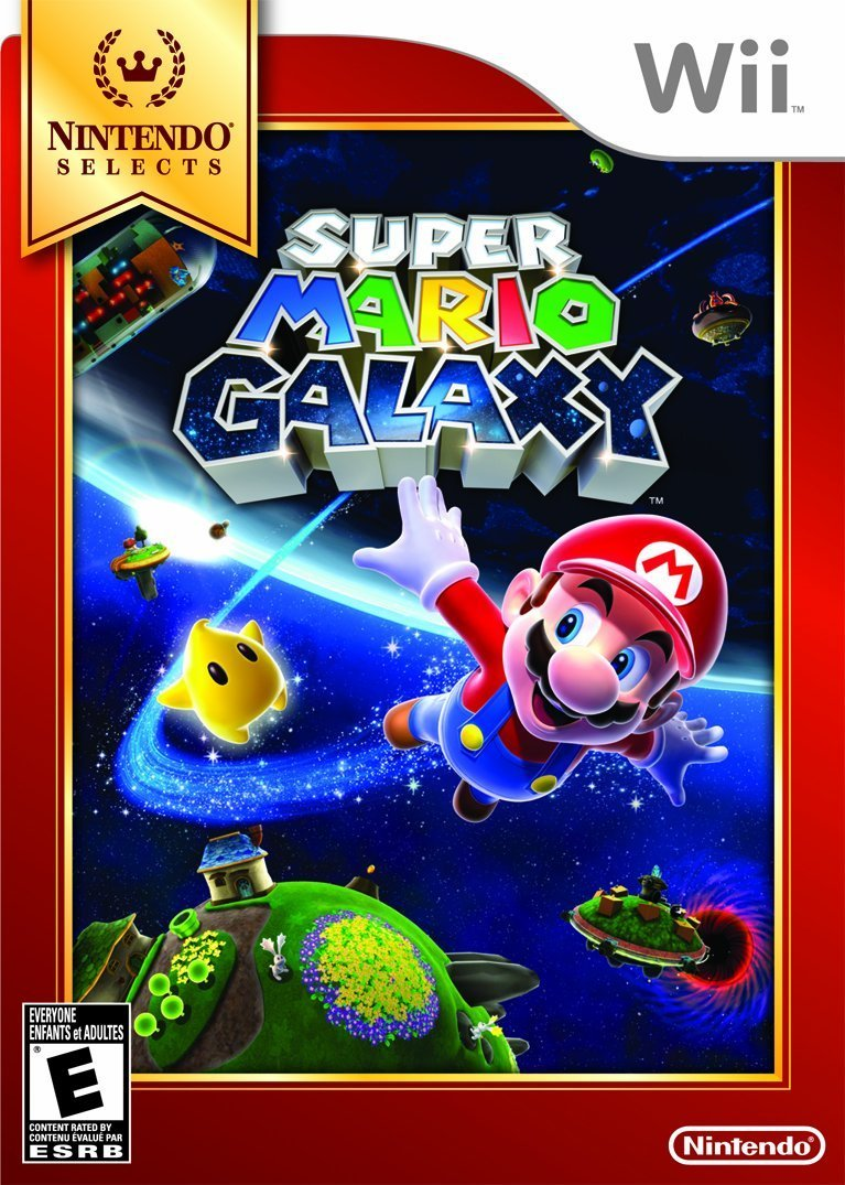 Amazon com: Super Mario Galaxy (Nintendo Selects): Nintendo