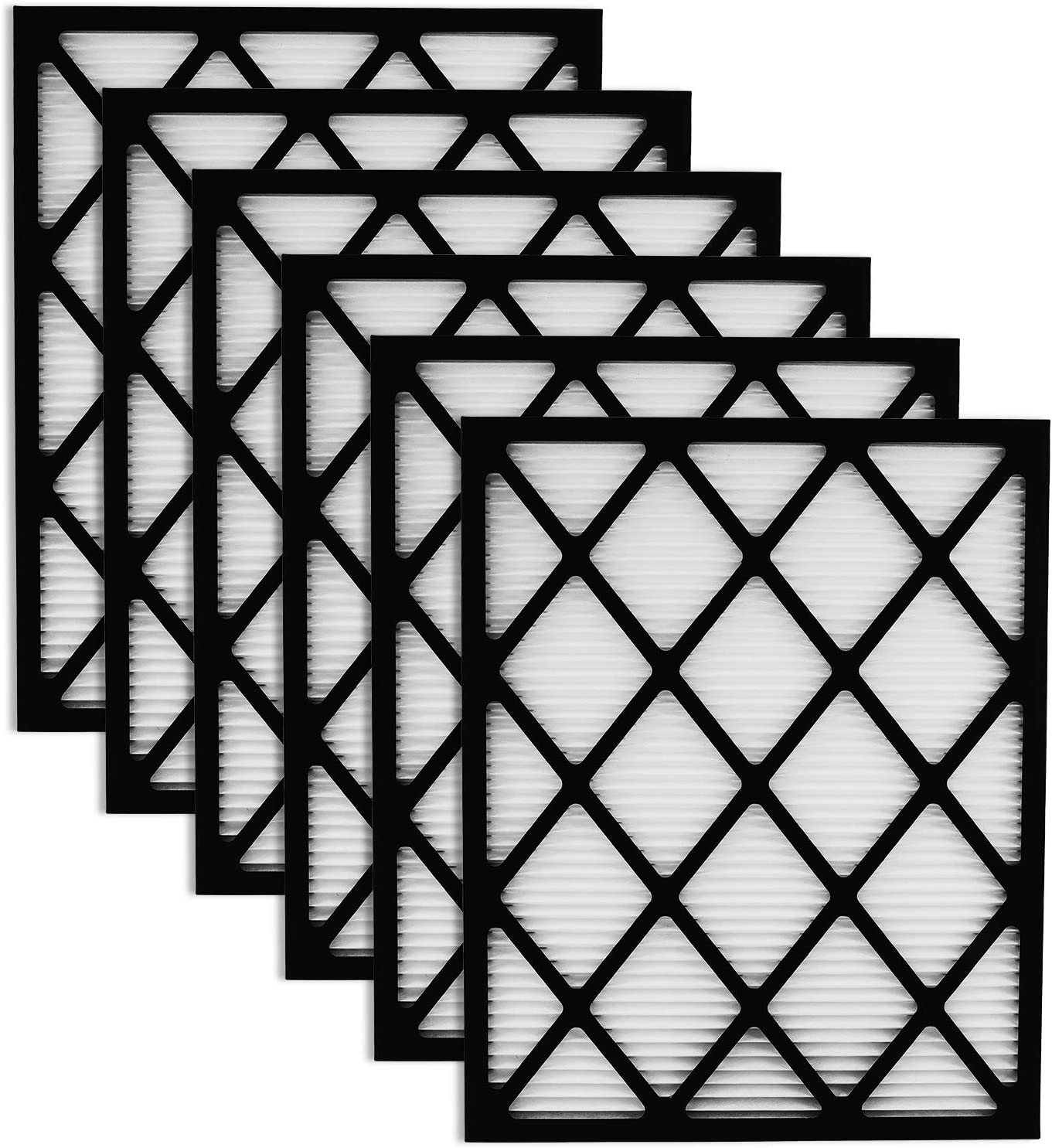 POPFRO Air Filters,20x25x1 HVAC Furnace Air Filter 6 Pack,MERV13,Comparable with MPR 300/600.Clean Living Dust Reduction,Permanent Washable Filters: Home & Kitchen