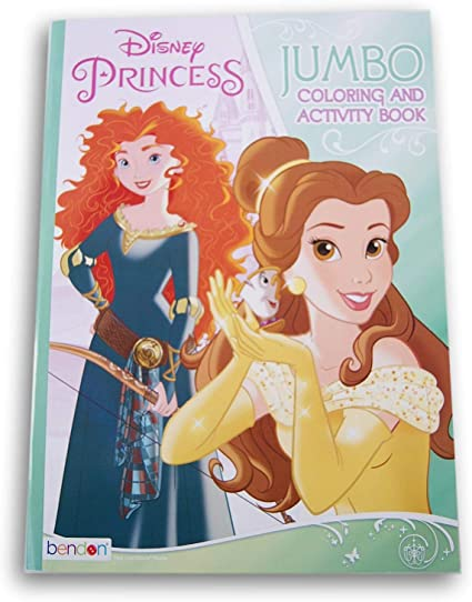 - Amazon.com: Disney Princess Coloring And Activity Book - 80 Pages: Toys &  Games