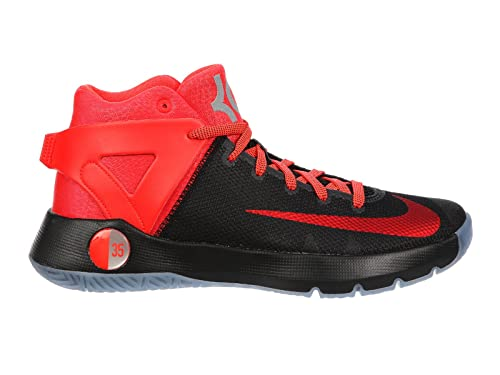 7f9281ab315b Nike Men s KD Trey 5 IV PRM Kevin Durant Basketball Shoes Black Bright  Crimson