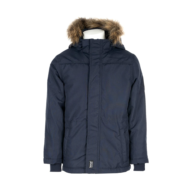 Horze JR Girls Luka Parka Jacket XS Blue