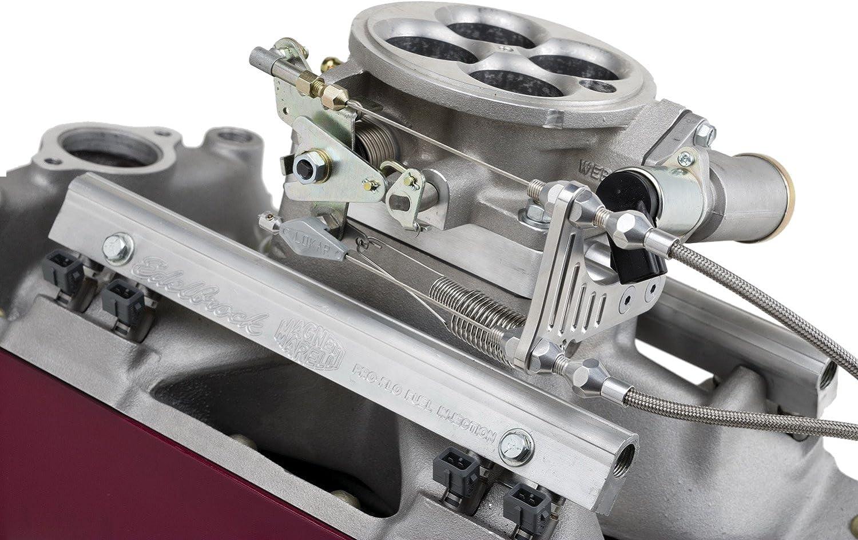 Lokar TCB-40EDC Throttle/Kickdown/Cruise Bracket and Spacer Kit for Edelbrock Pro-Flo Fuel Injection