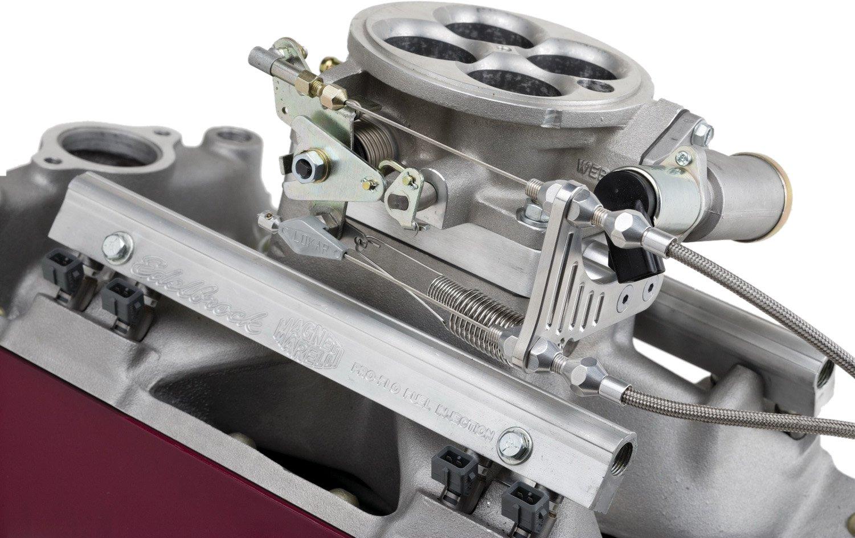 Lokar TCB-40EDC Throttle/Kickdown/Cruise Bracket and Spacer Kit for Edelbrock Pro-Flo Fuel Injection by Lokar