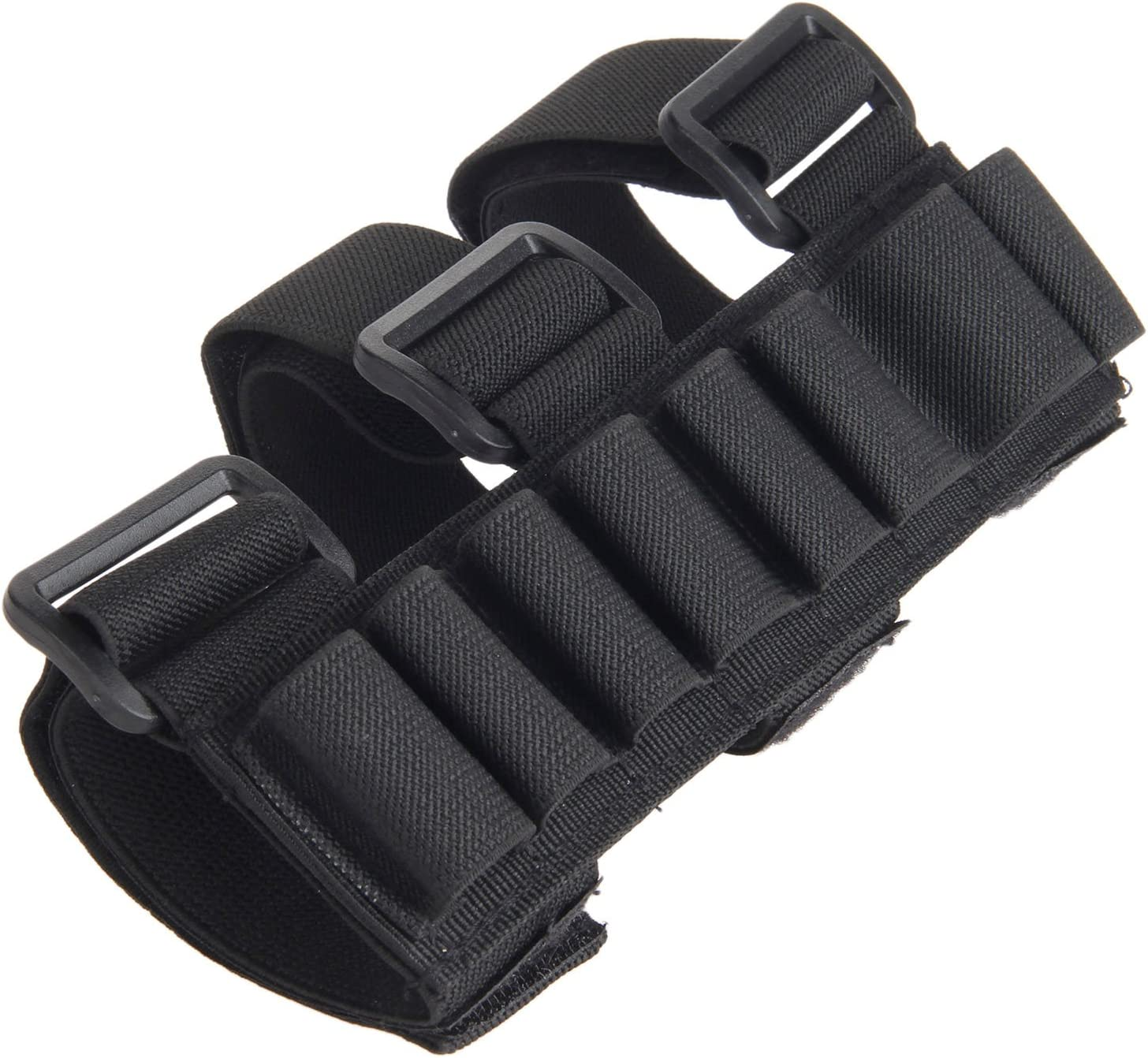 8-Round Arm Rifle Bullet Pouch Airsoft Hunting Accessory Bag Shotgun Ammo Holder