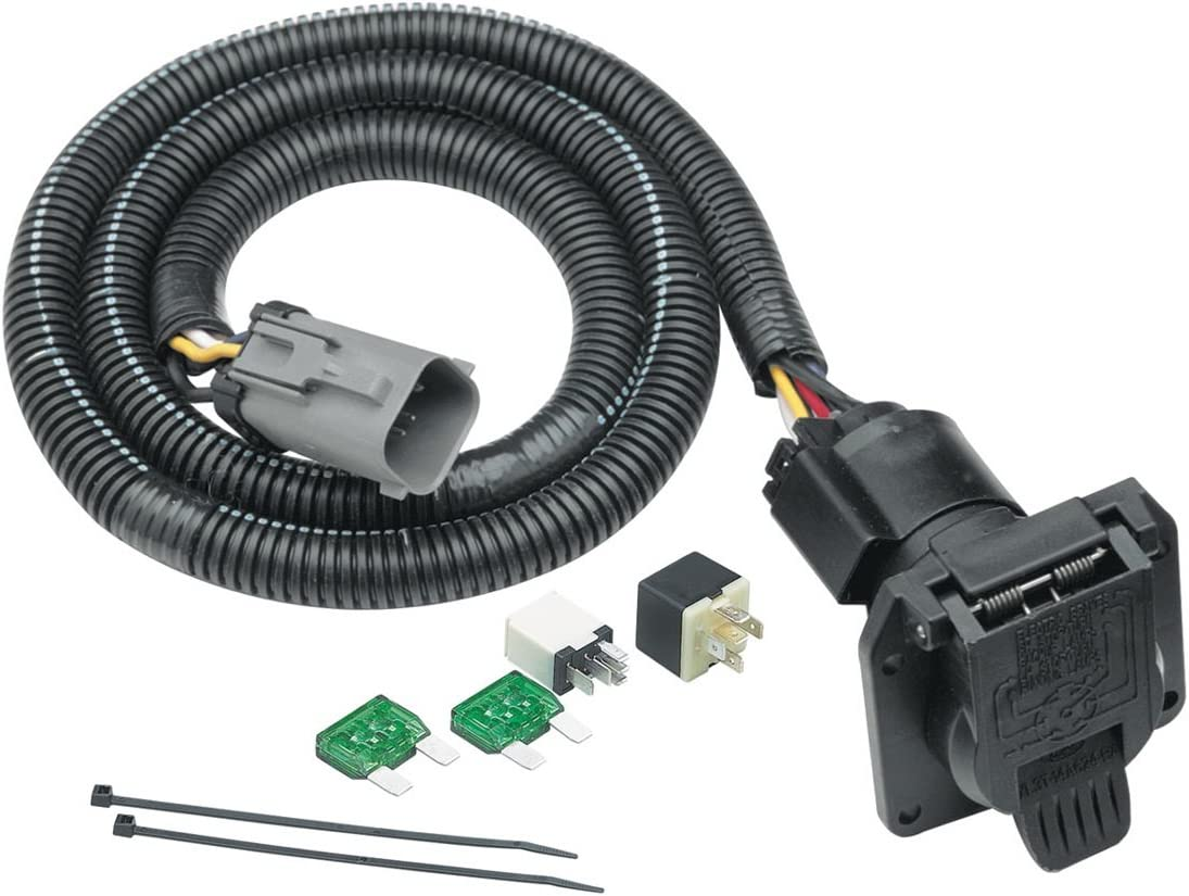 Amazon.com: Tekonsha 118243 7-Way Tow Harness Wiring Package: AutomotiveAmazon.com