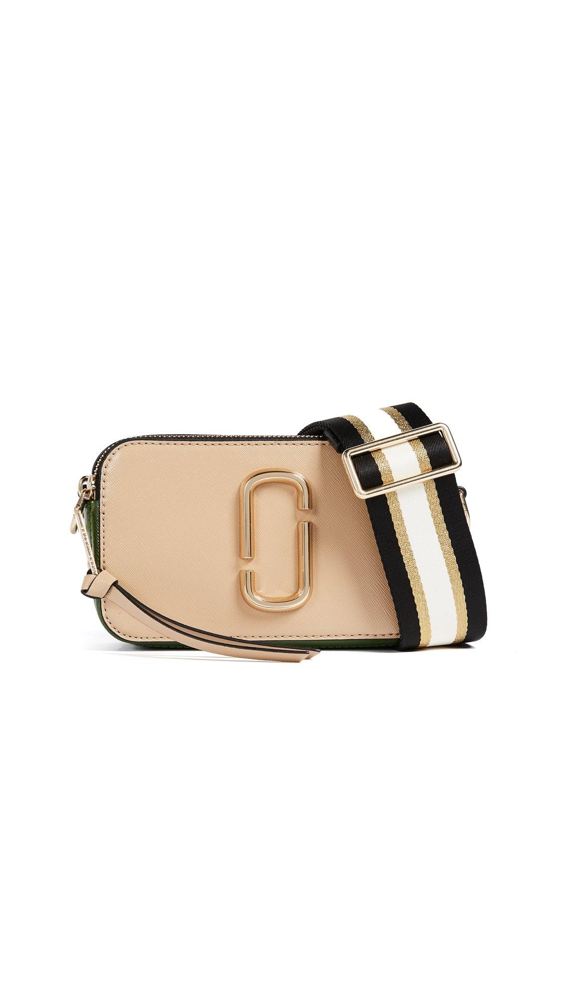 Marc Jacobs Women's Snapshot Cross Body Bag, Sandcastle Multi, One Size