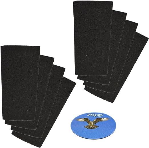 HQRP – Filtro de carbón (8 unidades) para Bionaire bap260, bap520 ...