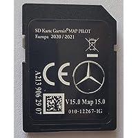 SD-kaart GPS Mercedes Garmin Map Pilot Europe 2020-2021 - STAR2 - V15 - A2139062907