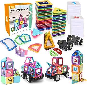 Aimant Bloque Set 3D 146pcs Infinitoo 146Pcs Magnétique Blocs de construction