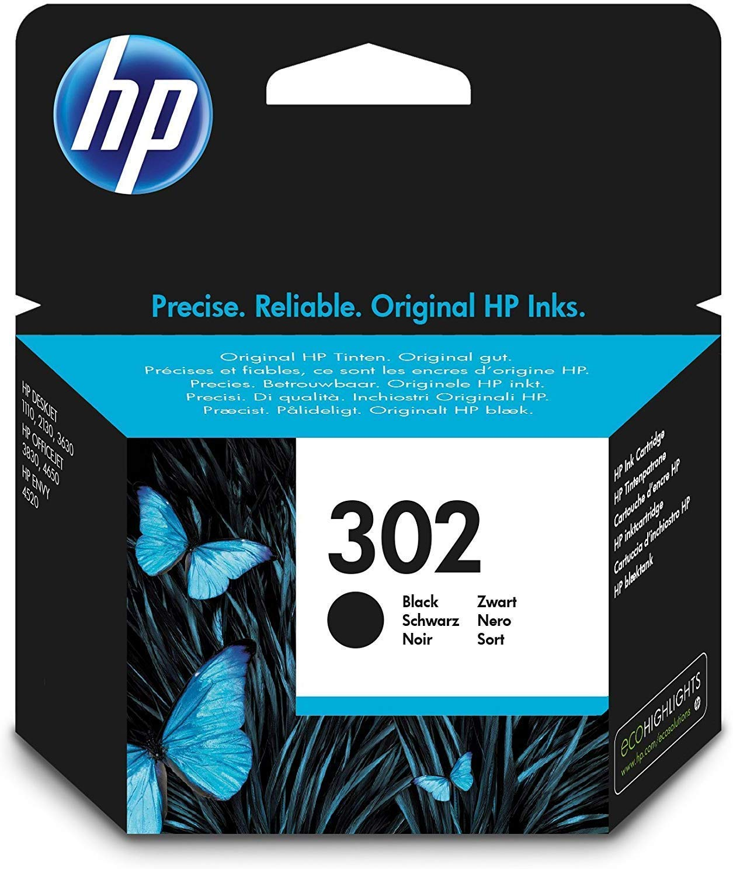HP 302 - Cartucho de tinta Original HP 302 Negro para HP DeskJet ...