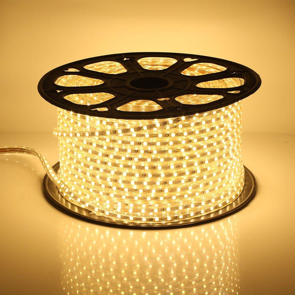 PVC, RGB 30M GreenSun LED Lighting Flexible Lichtband Streifen Lichterschlauch Stripe Leiste Lichterkette 60 LEDs//M Lichtschlauch wasserdicht