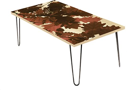 LAMOU Oaky Dokey 24 Inches Coffee Table