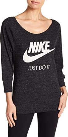 Birmania Felicidades Inocencia  Amazon.com: Nike Vintage Gym Oversized Pullover Sweatshirt (X-Small) Black:  Clothing