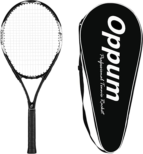 oppum Adult Carbon Fiber Tennis Racket