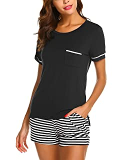 fb65d017cd Dolay Sleepwear Sets Women s V-Neck Pajama Short Set Soft Loungewear ...