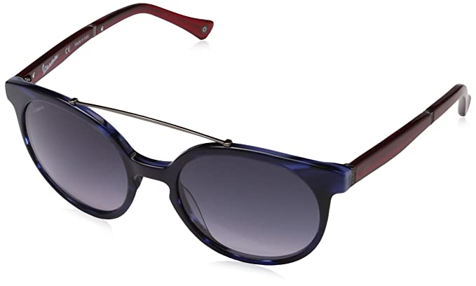 Vespa Unisex-Erwachsene Sonnenbrille Eye, Schwarz (Nero/Celeste), 48