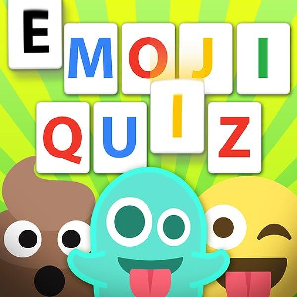 The Emoji Quiz - guess words from emojis stickers: Amazon.es ...