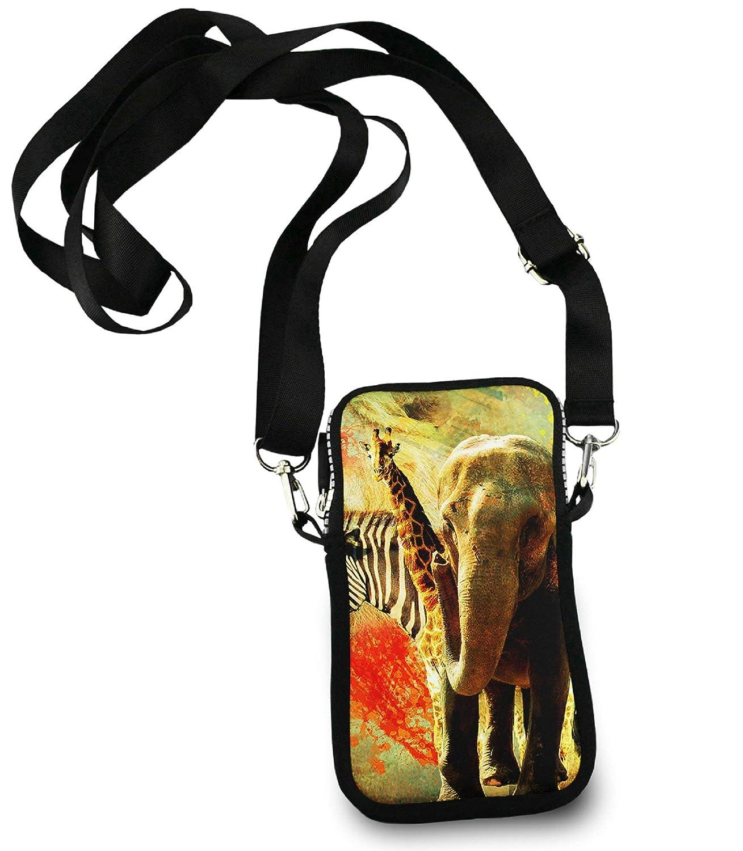 ESTLISS - Bolso Bandolera pequeño con diseño de Elefante ...