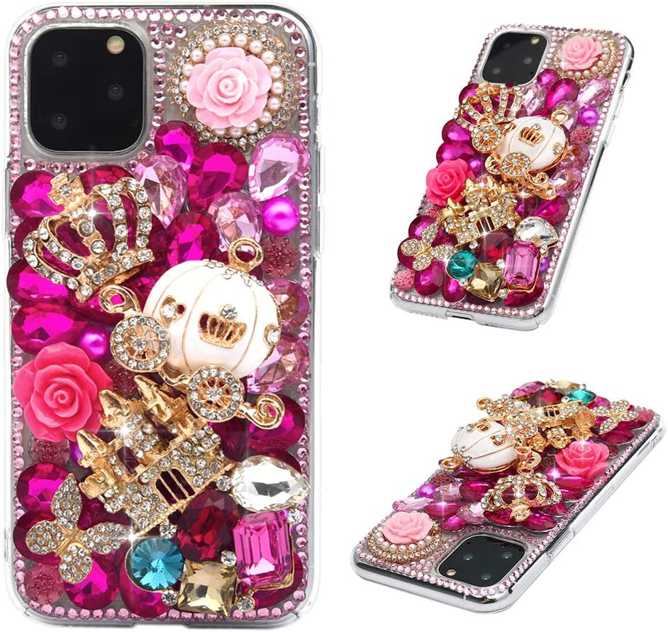 Handmade Bling Diamond Holder Hard Case