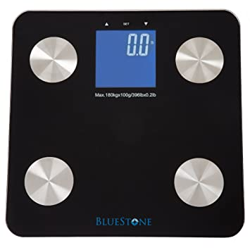 Amazoncom Digital Body Fat Bathroom Scale Cordless Battery - Large display digital bathroom scales