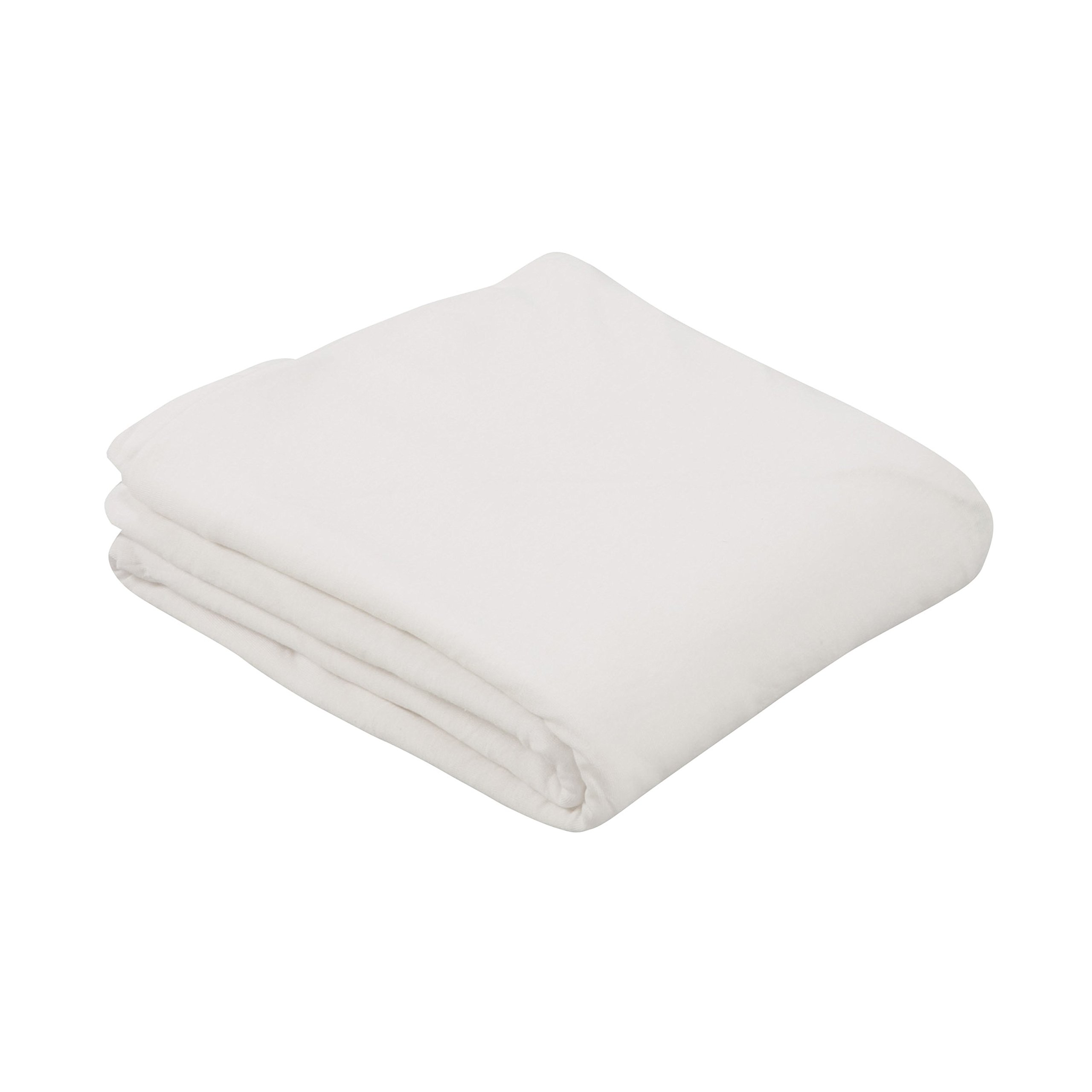 Duro-Med DMI Airweave Knit Hospital Bed Sheet, Polyester/Cotton, Promotes Better Air Circulation, 36 x 80 x 6 Inches, White