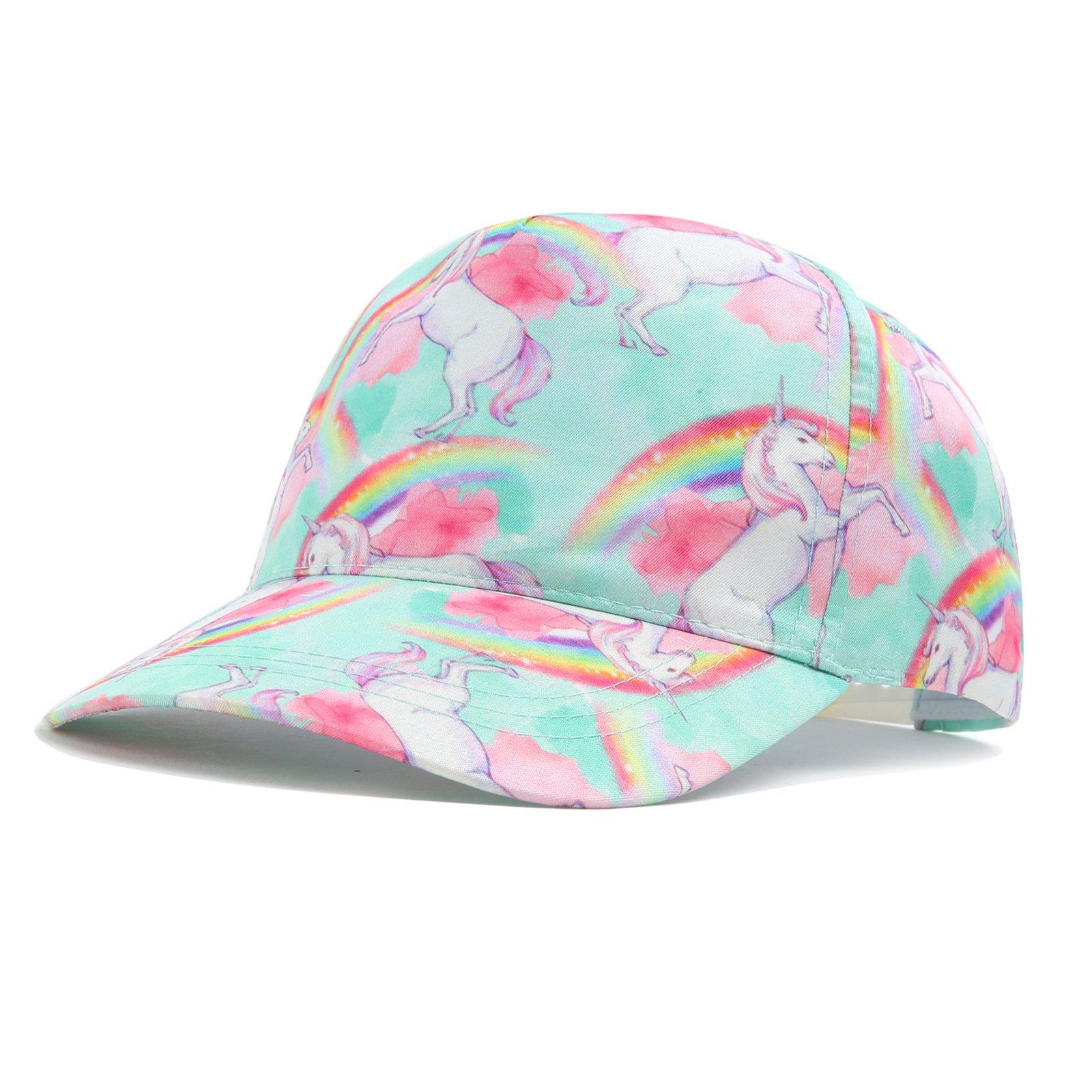 Liliane Kids hat Beach Hats for Kids Sun Hats for Girls hat Kids Hats for Girls Girls Baseball Cap(3-7 Years A044)