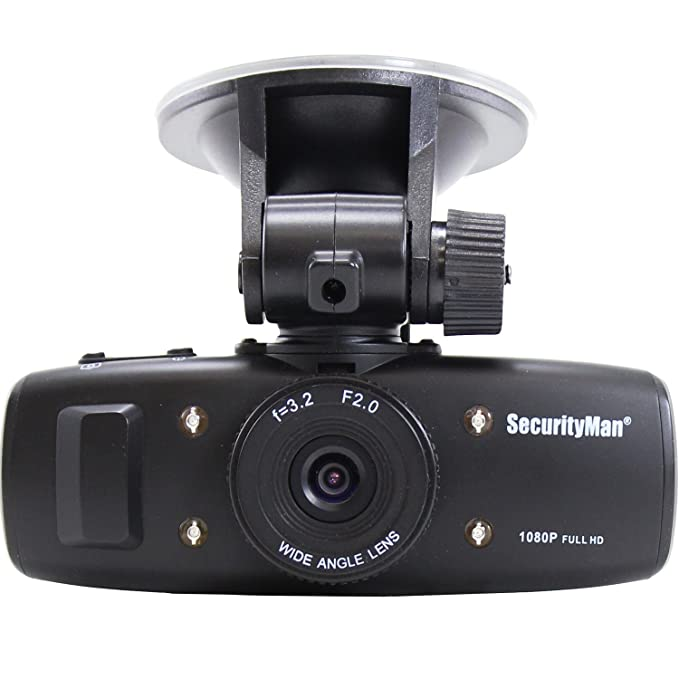 Amazon.com: Securityman 1080p HD Dash Car Camera Recorder ...