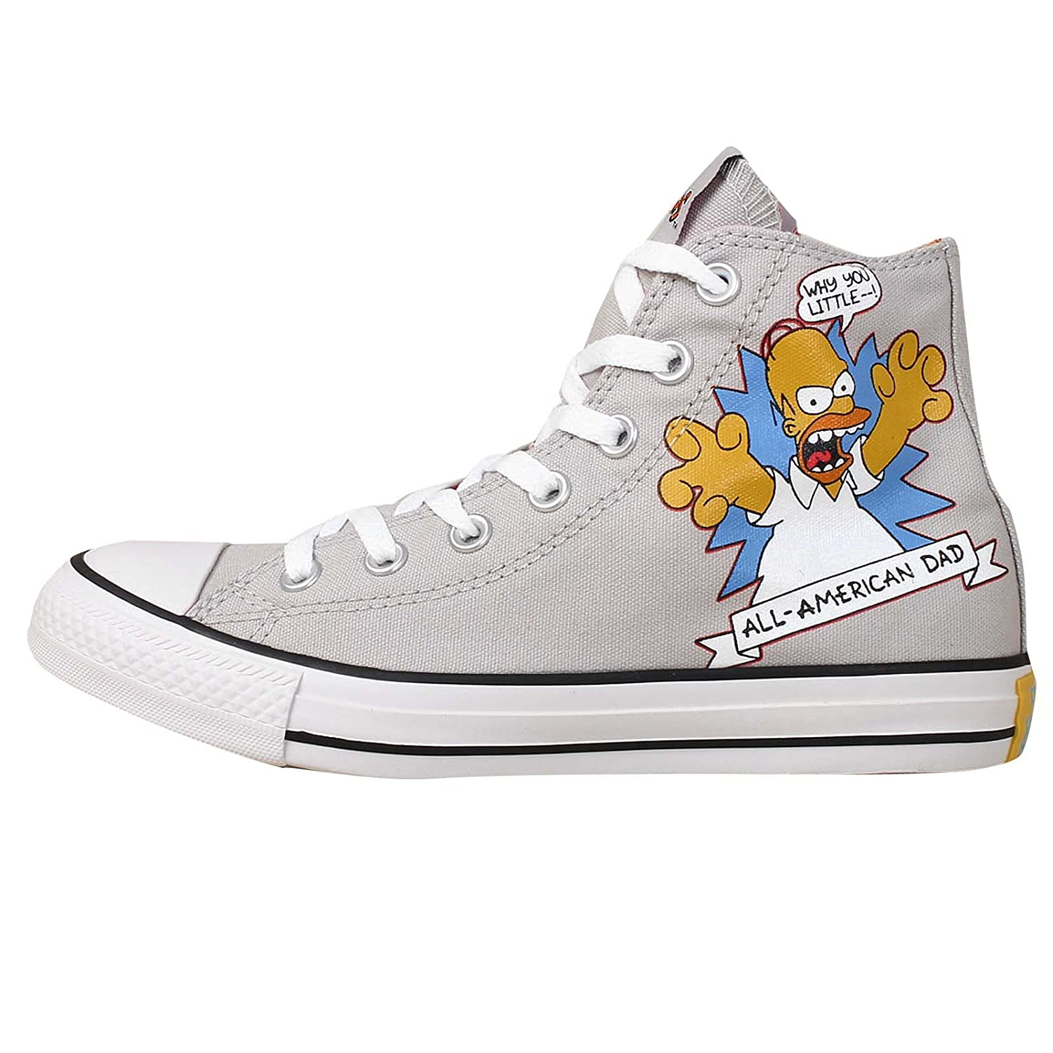 Converse Chucks All Star Bestellnummer 146808 Gr.  EU  37,5 UK  5 Farbe  Grau Limited Edition THE SIMPSONS
