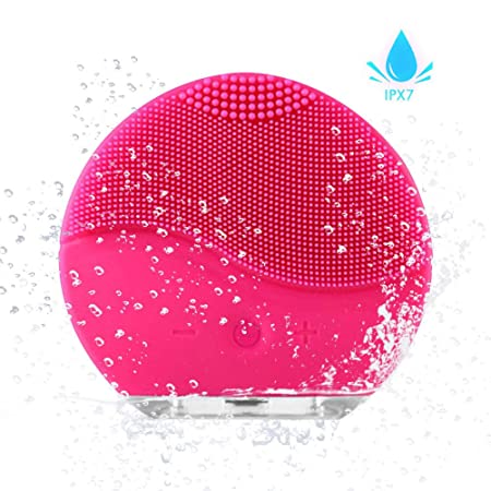 Facial Cleansing Brush, Axayinc Waterproof Silicon Facial Cleaner And Masager Electric Cleansing... by Axayinc