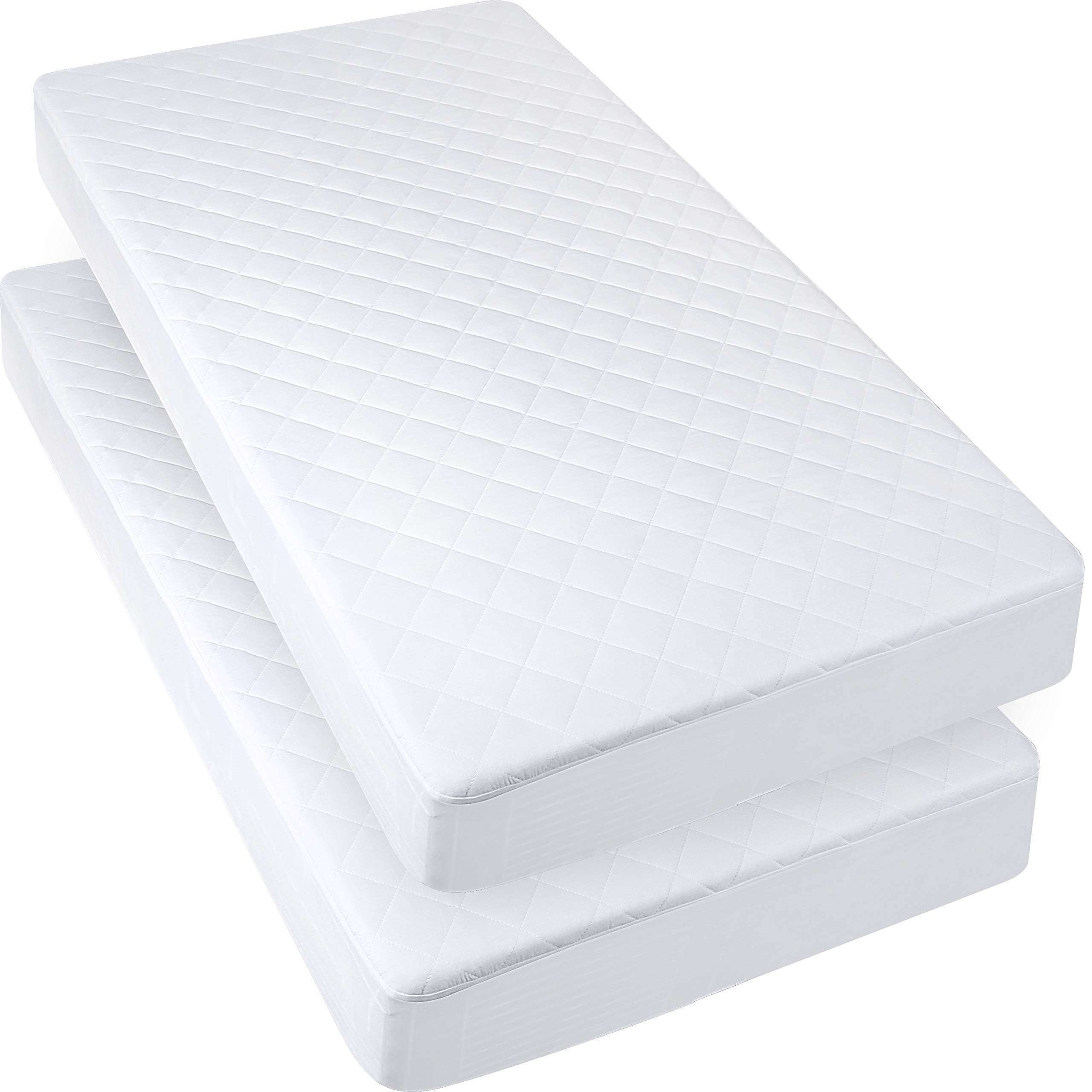 Cot Bed Fitted Sheets 2 Pack Cot Bed Baby Sheet Mattress Cover Soft 70x140cm for