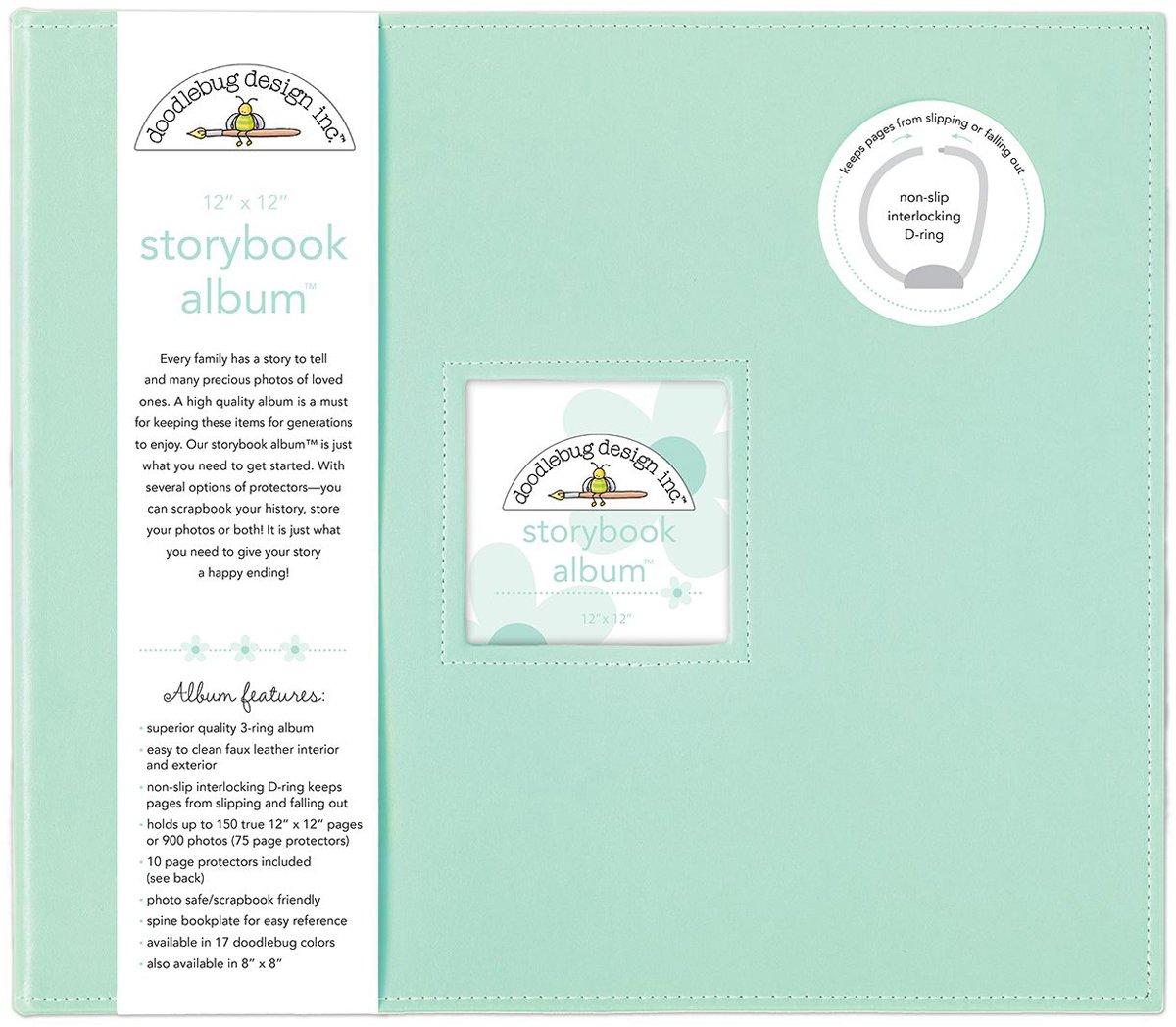 DOODLEBUG 5722 Storybook Album 12''X12''-Mint