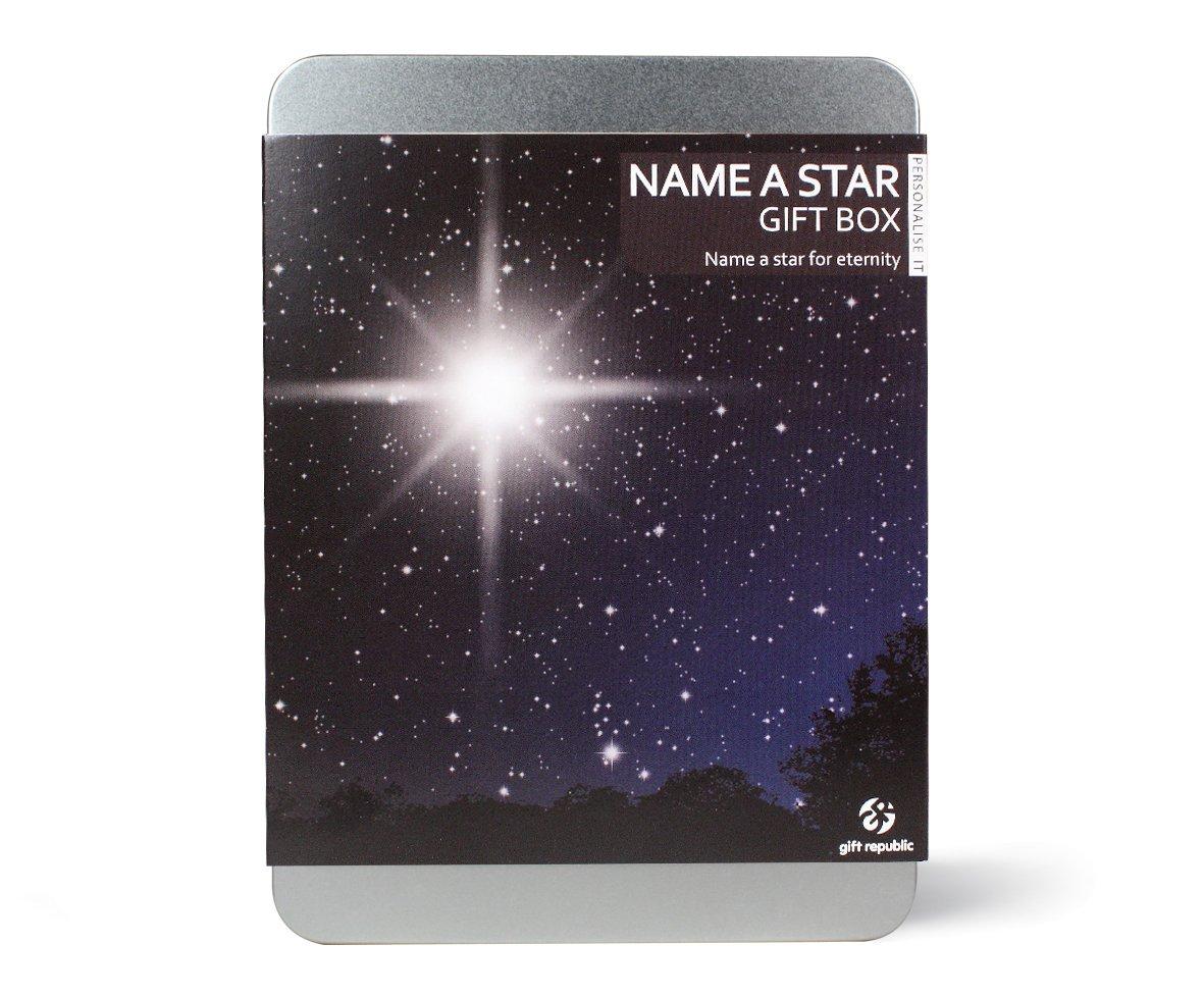 amazon com gift republic name a star gift box home u0026 kitchen