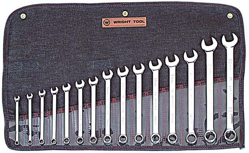 21mm Wright Tool 21221 12-Point Metric Full Polish Combination Wrench