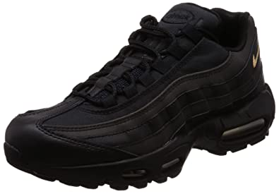 newest collection 81cfe 949c5 Nike 924478-003 Men AIR MAX 95 Premium SE Black Metallic Gold