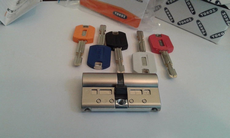 TOKOZPRO 400 tipo aleaci/ón, 5 llaves//tarjeta de identificaci/ón Cerradura de seguridad