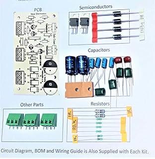e-vasp Electronics DIY PCB Combo of 2 pcs 100watt 2SC5200