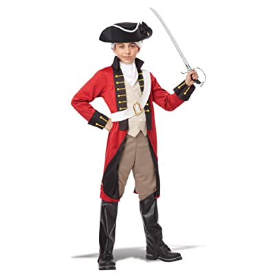 California Costumes British Redcoat Child Costume, Medium: Toys & Games