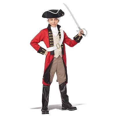 California Costumes British Redcoat Child Costume, X-Large: Toys & Games
