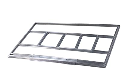 Estructura metálica Gardiun para preinstalación de suelo casetas de 4,72 m2 - KIS14006 -