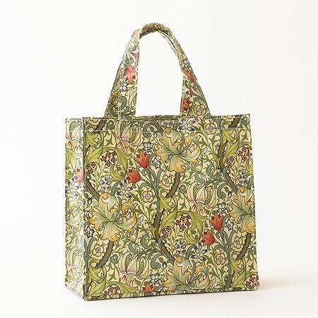 Paisley Navy Tote Bag by Susie Faulks Bag Oilcloth Bags Tote Shopper Made in England Original Print  paisley blue bag vegan bag