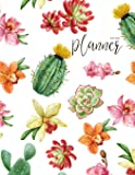 2019-2020 Planner: Daily Weekly Monthly Calendar Planner - 24 Months Jan 2019 - Dec 2020 for Academic Agenda Schedule Organizer Logbook and Journal ... to to List - Watercolor Happy Cactus Cover
