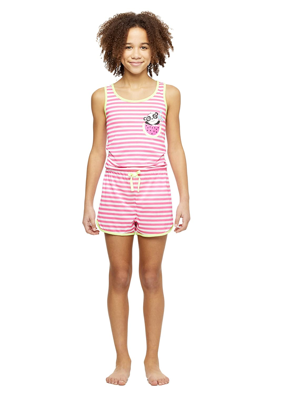 Girls Knit Pajamas Romper